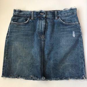 J.Crew Denim skirt